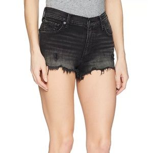 Lucky brand high rise jeans shorts